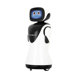 PadBot P3 Comunicação Interativa Artificial de Vídeo Bate-papo Auto Carga Dança Saudação Rosto Rastreamento Reconhecimento Recepcionista Robô de