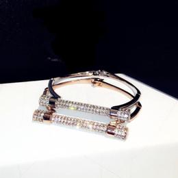 Bracelet européen simple et plein de diamants, bracelet en argent couleur or rose ? partir de fabricateur