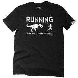 camicia da running rosa mens Sconti Running T-Shirt Funny Novelty Mens tee TShirt - Running Some Motivation Richiesto bianco nero grigio rosso pantaloni tshirt suit cappello rosa t-shirt