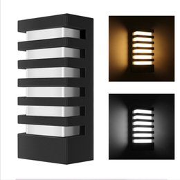 Lâmpada led ip65 on-line-15W LED Wall Lamp Sunsbell Modern Aluminum COB Light IP65 Waterproof Wall Sconce Outdoor Wall Fixture Light Cold White warm white