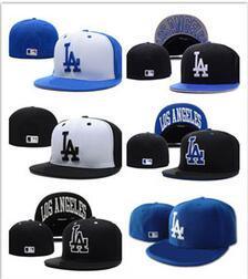 Nueva llegada top Sale LA Baseball Fitted Hats Mens, Hip Hop Sport Fitted Caps Womens, Moda béisbol Bola de algodón Gorras Gorros casuales del Snapback desde fabricantes