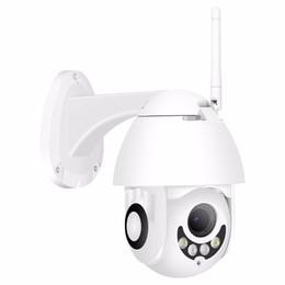 Беспроводная проводная камера cctv онлайн-BESDER WiFi IP-камера Full HD 1080P беспроводной проводной PTZ открытый скорость купола CCTV камеры безопасности поддержка двухстороннее аудио приложение ICSee