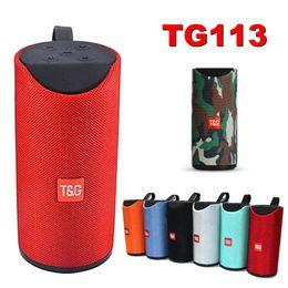 TG113 Altavoces inalámbricos Bluetooth Subwoofers Manos libres Llamada Perfil Estéreo Soporte de graves TF Tarjeta USB AUX Línea In Hi-Fi Sonido Reproductor de música Mp3 desde fabricantes