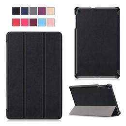 Porzellanhalter fall online-Fall für Samsung Galaxy Tab 10.1 A 2019 - Premium-PU-Leder-Standplatz-Abdeckung für Samsung 10,1-Zoll-Tablet (SM-T510 / T515) mit Stylus-Halter, Karten