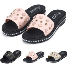 знаменитый массаж Скидка ONTO-MATO  Women Breathable Lightweight Sandals Massage Comfortable Flip Flops Beach Shoes Dropshipping  Sandalen