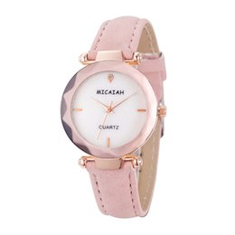 спортивные наручные часы Скидка Women 's Fashion Leather Band Casual Analog Quartz Round simple sport personality beautiful new Wrist Watch Watches
