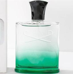 Perfumes originais on-line-Perfume sólido Creed Green Faith Original Vetiver Perfume dos homens para homens perfume 120 ml alta fragrância boa qualidade cz136