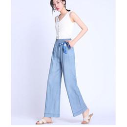 NORMOV Moda Bayan Jeans Yay Gevşek Yüksek Bel Tencel Kore Seksi İnce Flare Jeans Casual Geniş Bacaklar Uzun Elastik Bel nereden