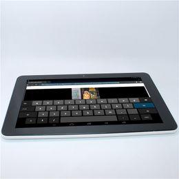 tableta 1366x768 Rebajas Glavey 10.1 pulgadas 2GB / 16GB IPS RK3188 quad core HDMI G-sensor tablet pc Android 4.2 Bluetooth wifi 8000mAh 2MP + 5MP Atrás