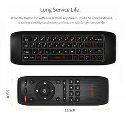 fly computer Sconti 2.4G Fly Air Mouse Raspberry pi 3 Tastiera wireless Tastiera di apprendimento telecomando Combo per Android Smart TV Box Computer