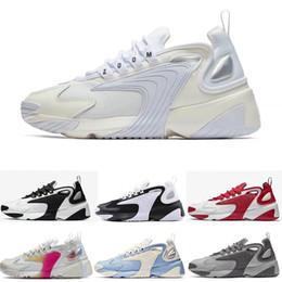 Sapatos pretos novo modelo on-line-2019 novo zoom 2 k vela branco-preto da marinha orange mens athletic shoes 90 s estilo de basquete m2k tekno modelo de moda mens designer de tênis