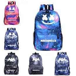 i giocattoli dei bambini dj Sconti Zaini scuola Marsupi Luminosi per zaini DJ Marshmello Zaini da stampa Zaino per bambini giocattoli per bambini