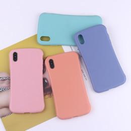 2019 ossa del telefono Per Iphone Xs Max X Xr Phone Case Bone Shape Candy Color per Apple 7 8 6 Plus TPU Custodie morbide per telefoni cellulari ossa del telefono economici