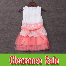 75c24868e07 little girls embroidered dresses 2019 - Kids Designer Clothes Girls dresses  Summer Baby Princess Dresses lace
