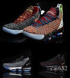 buy online 869ec 1c1a5 lbj sneakers Rabatt Neue Lebron 15 Herren-Basketballschuhe James What the  Lebron 16 Mehrfarbig Durch