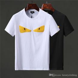2019 design t-shirt jaune T-shirts de designer de vêtements pour hommes de luxe, chemises design pour l'été et l'automne promotion design t-shirt jaune