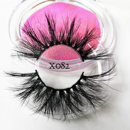 6D Vison Faux Cils 25mm Longs Cils Extension Épais Wispy Fluffy À La Main Maquillage Pour Les Yeux Outils Femmes Beauté Outils 66 ? partir de fabricateur