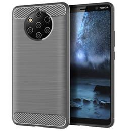 modelos x5 Rebajas Modelos de explosión TPU carcasa del teléfono móvil anti-caída PARA: NOKIA 6.1 7.1 9 PureView X5 X6 X7 Caja del teléfono Sirocco Plus