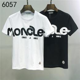 Painel de classificação de cor on-line-2020ss primavera e algodão novo alto grau de verão impressão de manga curta rodada painel pescoço t-shirt Tamanho: m-l-xl-XXL-XXXL Cor: r29 preto branco