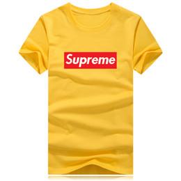 Plus größent-shirts für männer online-Großhandelsneue Ankunft 2018 2019 Luxuxdesigner Hochwertige erwachsene Hauptwegmannhemden T-Shirts Qualität beiläufig plus freies Verschiffen der Größe