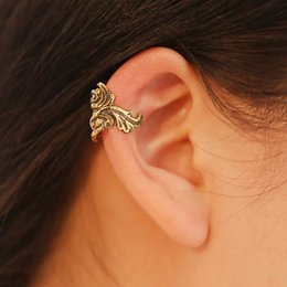 Mariage boucles d'oreilles en Ligne-clip oreille manchette goldfish clip oreille boucles d'oreilles couleur or / argent bijoux de mariage filles cadeau femmes boucle d'oreille