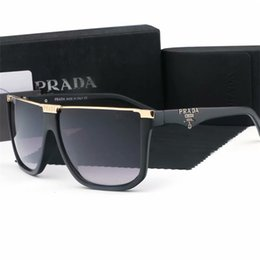 occhiali da sole arancioni sportivi Sconti Occhiali da sole con lenti in vetro di alta qualità Designer Fashion Montatura in oro Occhiali da sole a specchio blu per uomo e donna Occhiali da sole sportivi UV400 Con scatola