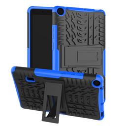 estuche antichoque ipad air Rebajas Cubierta de soporte de neumático híbrido para Huawei Mediapad T3 7.0 Versión Wifi Mediapad T3 8.0 Lenovo Tab E7 7.0 7104F