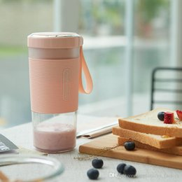 food extractor machines Desconto Venda quente Mini Portátil Juice Cup 300 ml Material Saudável Mini Juicer Mini Frutas Legumes Milkshake Juice Liquidificador Mixer