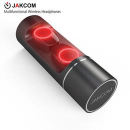 Jakcom TWS многофункциональные беспроводные наушники новый в наушниках наушники как смарт-группа питания усилитель звука пены советы от Поставщики пена наушники советы