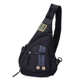 paquete de eslinga impermeable Rebajas Messenger Bag Men Nylon impermeable Cofre multiusos Sling Bolsas de hombro para hombre Casual Crossbody Travel 2019 Nueva moda