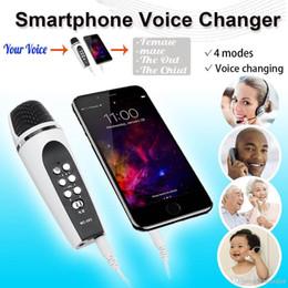 4 mod iphone samsung smartphone cep telefonu pc android için ses değiştirici mikrofon nereden gizli güvenlik kameraları sesi tedarikçiler