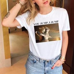 Roupa titânica on-line-Engraçado Titanic Letra T shirt Mulheres Casual Verão Harajuku T shirt Para Senhora Menina Top Tee Hipster Feminino T camisas Mulher clothing