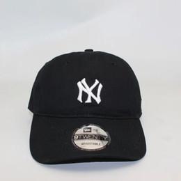 2019 saco de algodão dos homens Hight quality NY bonés de beisebol de algodão New York bola caps verão mulheres chapéus de sol ao ar livre ajustável homens caps mulheres Snapback Cap com tag bag desconto saco de algodão dos homens
