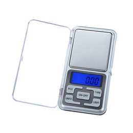 elettronica di visualizzazione Sconti 200G 0.01G Electronic Display LCD Scala Mini Pocket Digital Scala gioielli pesare bilancia bilancia utensili da cucina