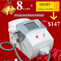 black equipment Promo Codes - CE Nd yag laser tattoo removal machine pigmentation removal black doll treatment equipment 5 million shots