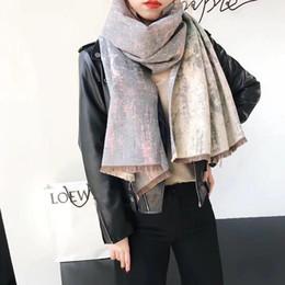 lenço listrado branco azul Desconto Luxo inverno cachecol de caxemira pashmina para mulheres marca designer mens quente xadrez cachecol moda feminina imitar lenços de lã de caxemira 180x70 cm