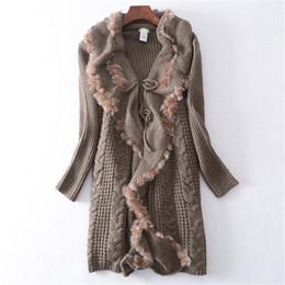 Canada mélange de laine polyamide épais femmes mode col irrégulier froncé long cardigan pull M-L au détail en gros supplier ruched cardigan sweater Offre