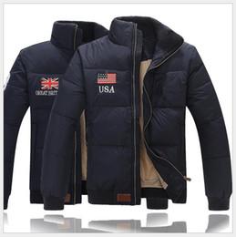 Argentina 2019 EE. UU. Bandera del Reino Unido marca de herramientas polo diseñador de invierno chaqueta de abajo para hombre juvenil informal Paul masculino grueso versión corta de la chaqueta cheap winter jacket youth Suministro