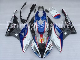 ninja 1999 zx6r kits de carenagem Desconto Injection Mold Novas ABS da motocicleta Carenagens Kit Fit For BMW S1000RR 2009 2010 2011 2012 carenagens carroçaria definir azul branco de prata