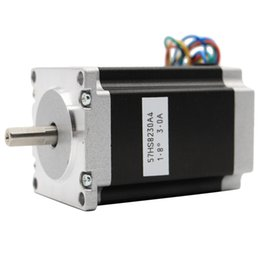 nema 23 stepper Sconti Stampante HHO-Nema 23 Cnc Stepper Motor 57x82Mm 3A 2.2N.315Oz-in NEMA23 Cnc incidere del router fresatrice 3D