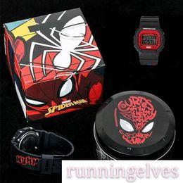 5600 choque de luxo Top qualidade Moda Marvel Avengers G Sports Watch Metal Box de Fornecedores de silicone de qualidade