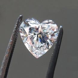 testi 0.5CT geçmesi ya da daha fazla bir moisanit sertifikanın raporunu vermek 0.1CT-4CT kalp kesilmiş üst sınıf D renk VVS1 moissanite elmas kolay nereden elmas ışıltılı tırnak gazı tedarikçiler