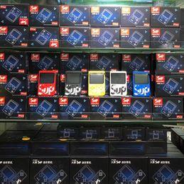 SUP Mini El Oyun Konsolu Retro Taşınabilir Video Game Player Can Mağaza 400 Oyun 8 Bit 3,0 İnç Renkli LCD Cradle Tasarım nereden lcd pmp tedarikçiler