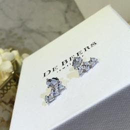 joyas extravagantes Rebajas 2019 Pendiente de la nueva diosa de la mujer, elegante y elegante, con retención de color permanente.