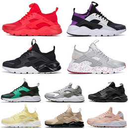 zapatos huarache  Rebajas huarache Trainers Huaraches Ultra 4.0 Hurache Running Shoes para hombres Triple White Black Huraches Sports Sneakers Harache Mens designer shoes
