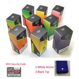 Penne vuote vuote online-Nuova Puff Bar Pod Kit 280mAh batteria con 1.3ml Svuotare Codice Cartuccia dispositivo Vape penna con sicurezza Black Tip