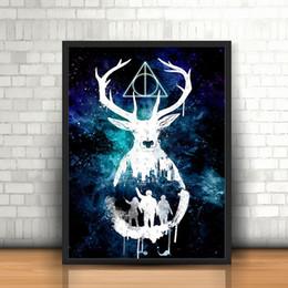Sala harry potter online-Harry Potter Hogwarts Acquerello Sfondi HD Poster Tela Pittura Quadri ad olio Stampa artistica Immagini per soggiorno Decoracion