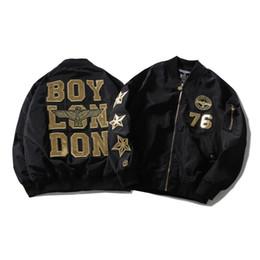 2019 meninos uniformes de beisebol Homens e mulheres europeus american street moda marca boy águia hot stamping estrela de cinco pontas fina jaqueta de beisebol uniforme primavera outono meninos uniformes de beisebol barato