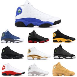 23d93bb7a59 2019 13 Basketball Shoes Bred Flints MELO CLASS OF 2002 Men Basketball  Shoes 13s Black Cat Hyper Royal WHEAT Wolf Grey Sneaker With Box discount  basketball ...