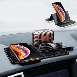 2019 honda crv abs Новый многофункциональный автомобильный складной держатель для телефона с приборной панелью противоскользящий коврик